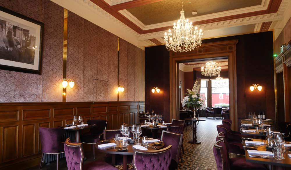 No 35 Dining Room, stunning decor - Edinburgh