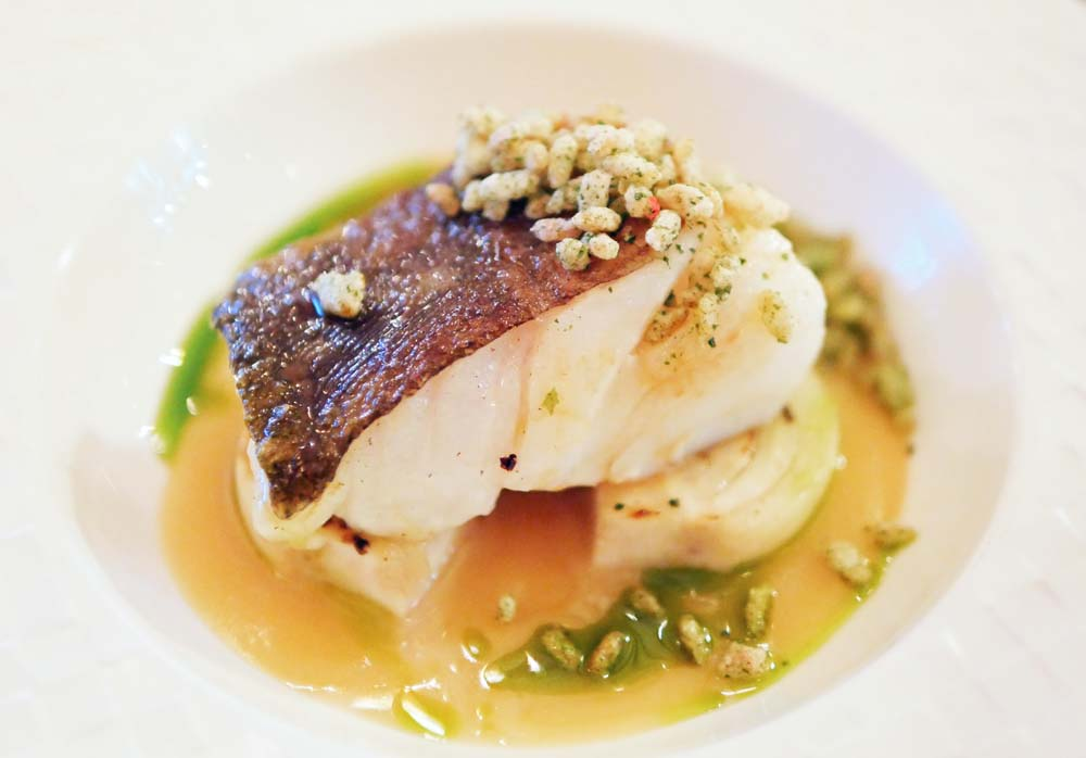 Brixham Cod at Twist Restaurant Marylebone