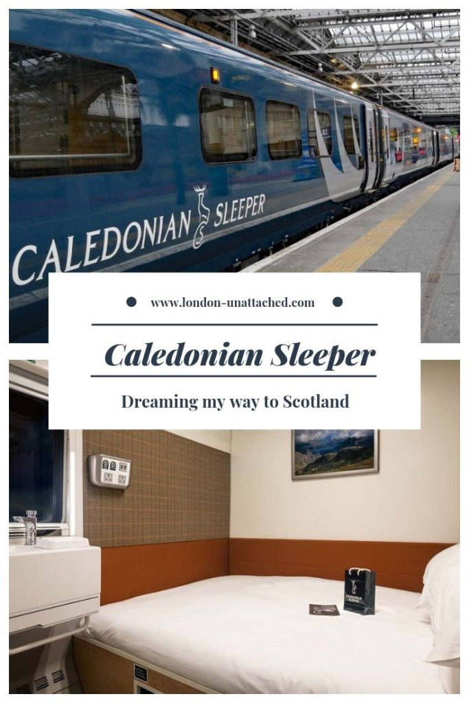 Caledonian Sleeper London to Edinburgh