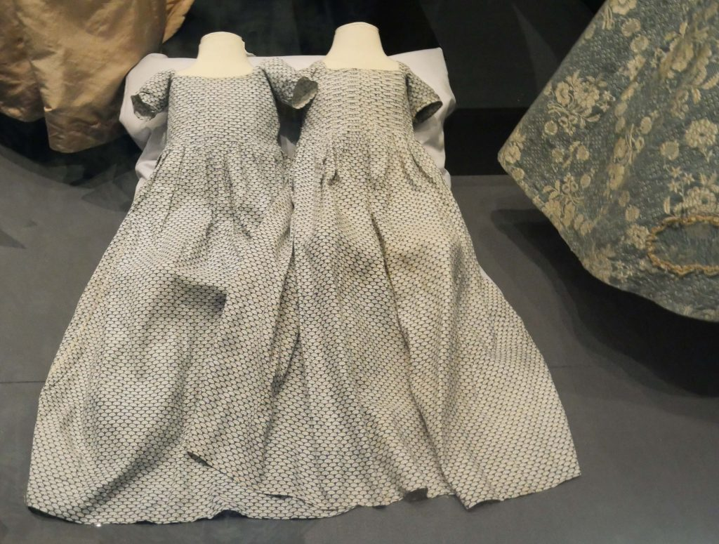 Childrens Clothes at the Bath Fashion Museum