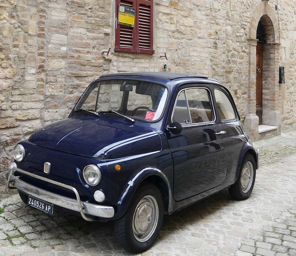 Fiat 500 in MontelParo