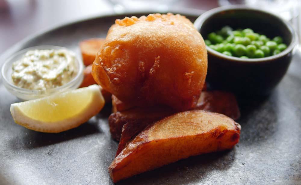 Fish and Chips - Bonham Hotel Edinburgh