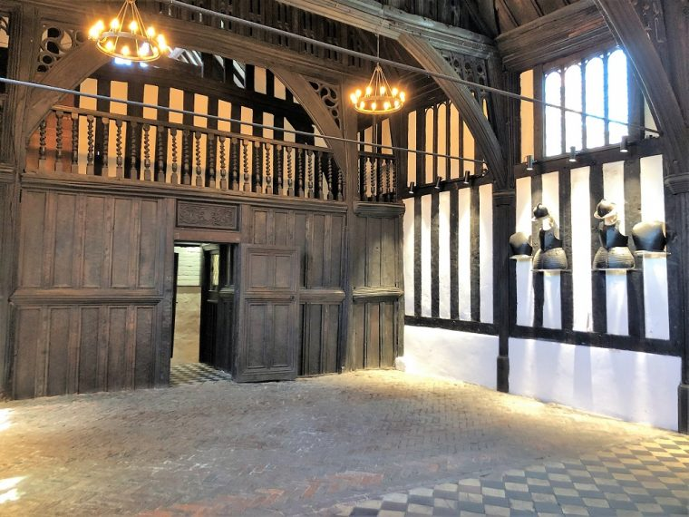 The Tudor Great Hall in the Commandery Worcester