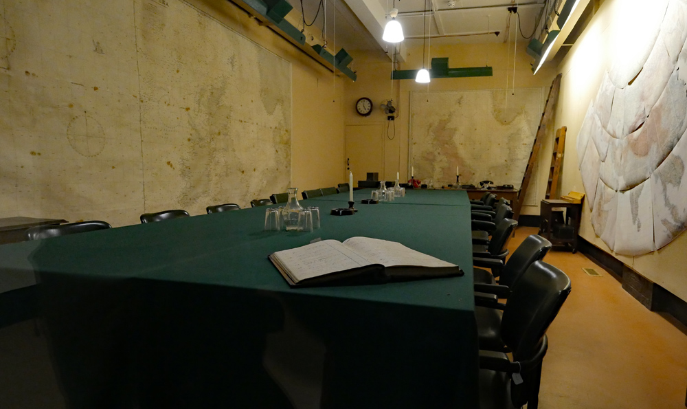 Map Room - Churchill War Rooms