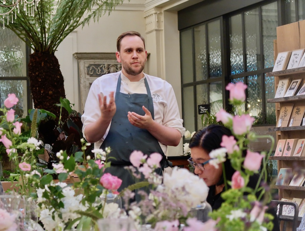 Mark Reid, Senior Sous Chef at Petersham Nursery Covent Garden