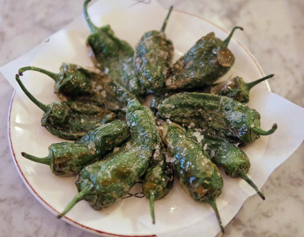 Padron Peppers at Twist Kitchen