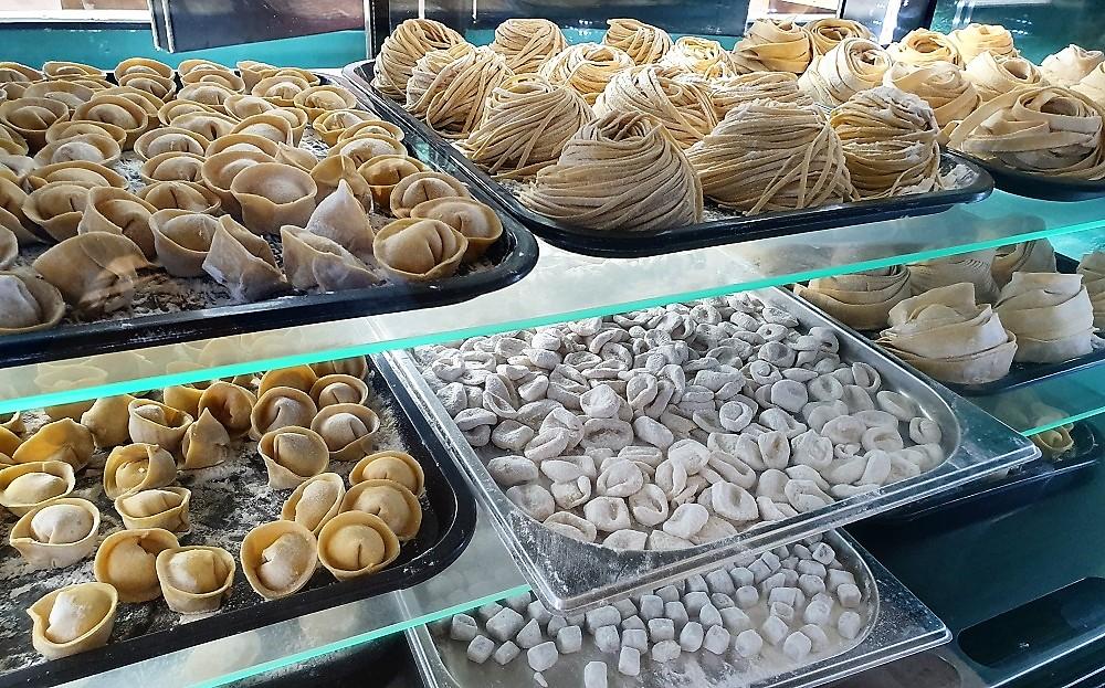 Pasta Nostra - pasta types