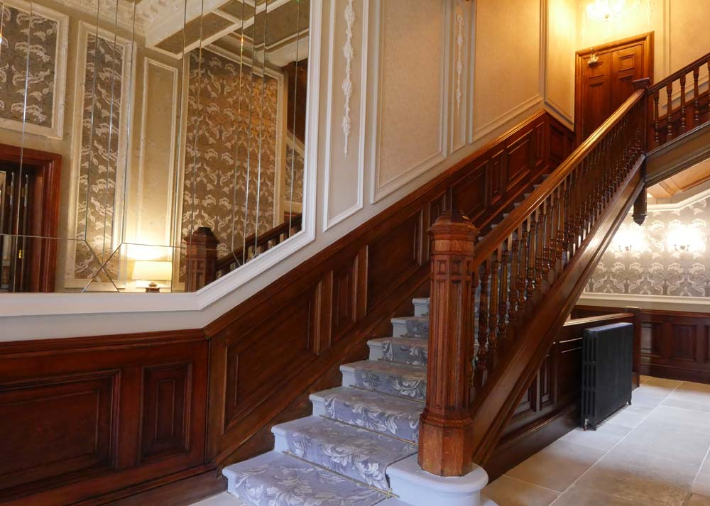Staircase at the Bonham Hotel