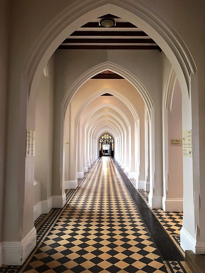Corridor at Stanbrook Abbey