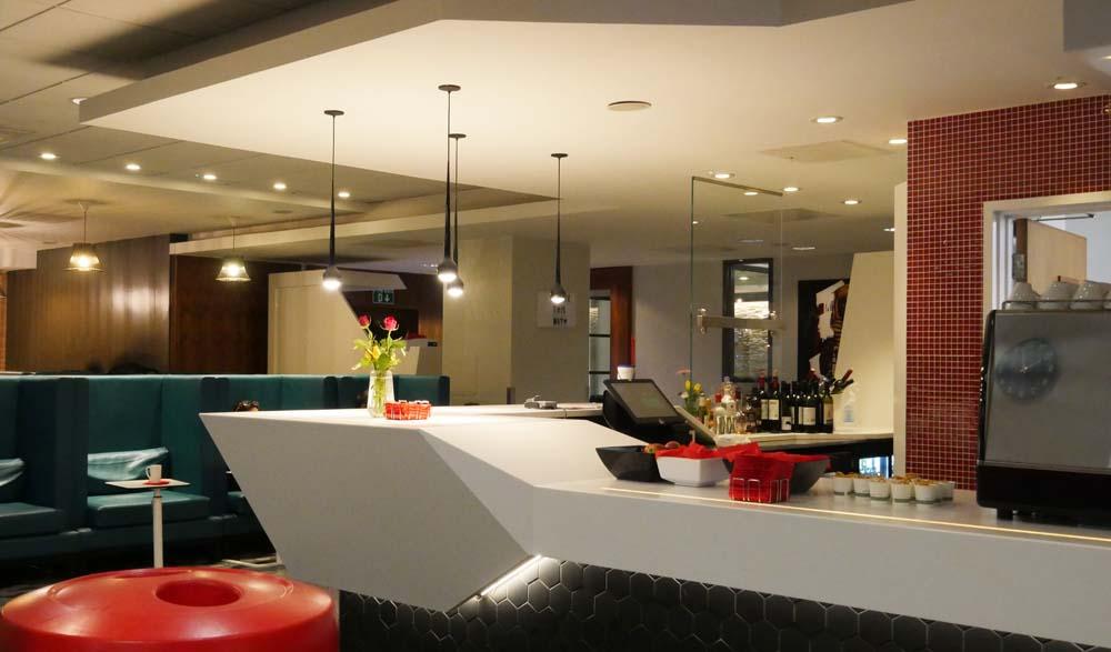 Virgin Lounge at Euston