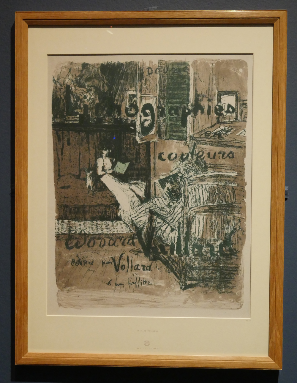 Vuillard Lithograph at the Holbourne Museum