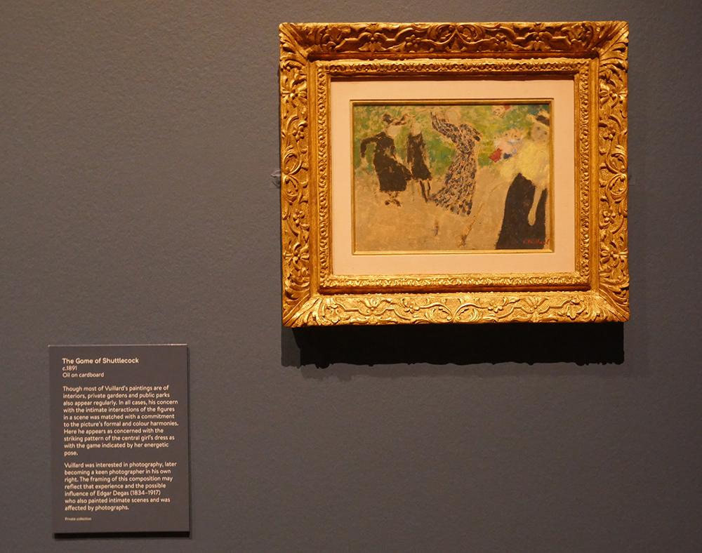 Vuillard at the Holbourne Museum Bath