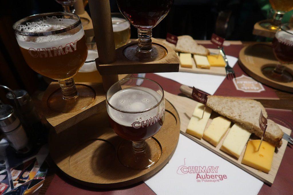 Wallonia Chimay Beer Tasting Auberge de Poteaupre