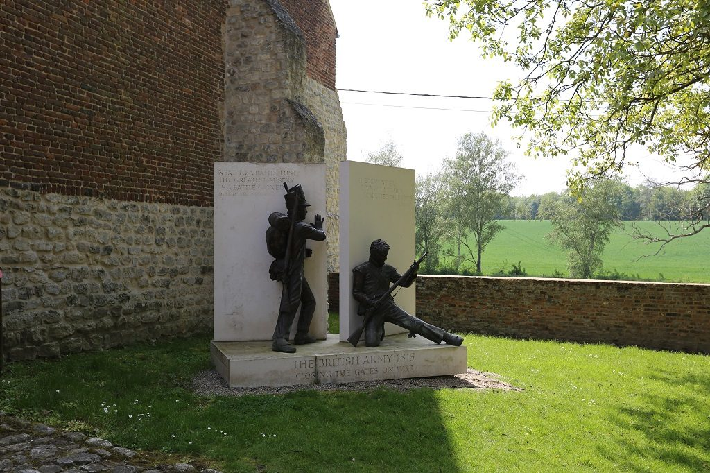 Wallonia Closing The Gate At Hougoumont Farm