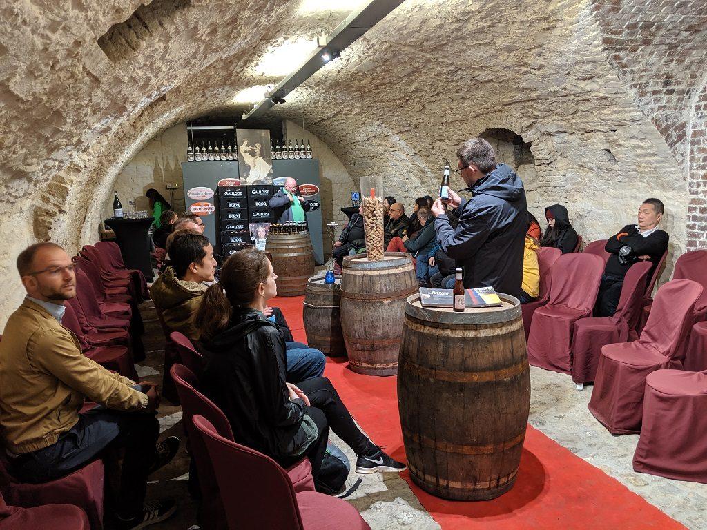 Wallonia Namur Citadel Beer Tasting