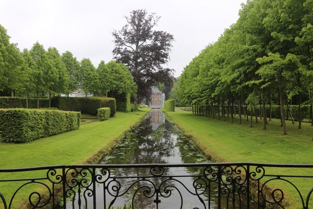 Wallonia The Water Gardens at Annevoie Walk