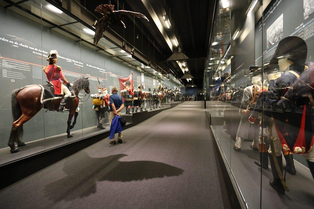 Wallonia Waterloo Museum Inside Soldiers
