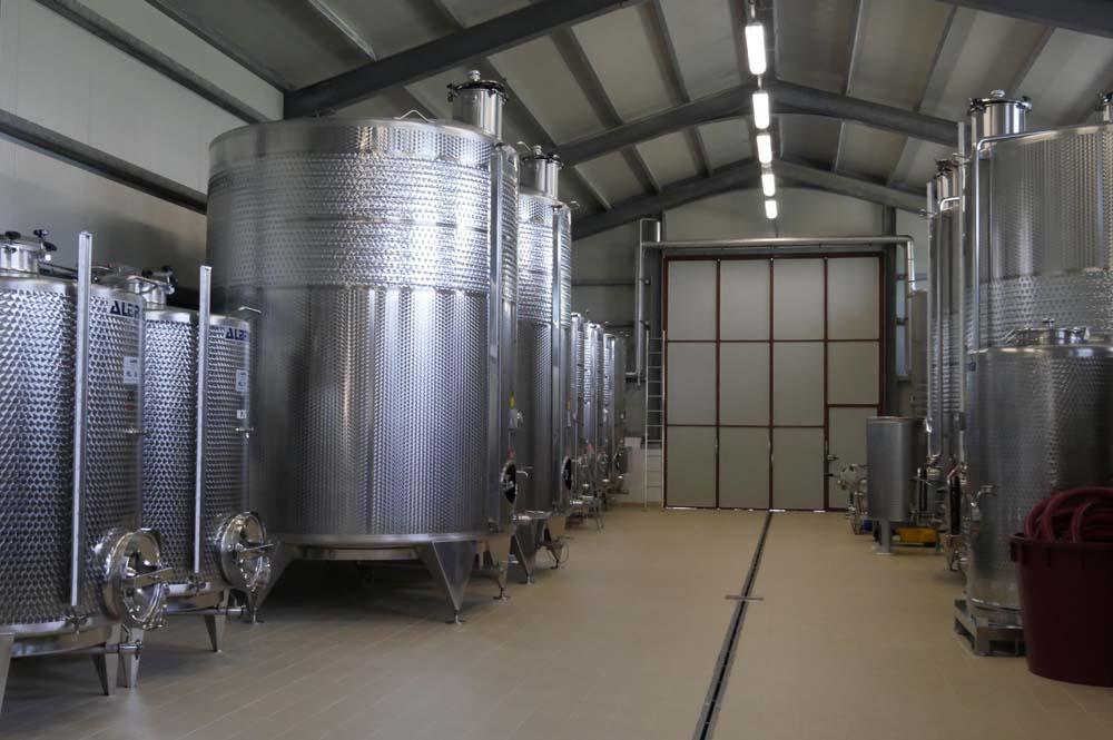 Wine Tanks at Casale Vitale
