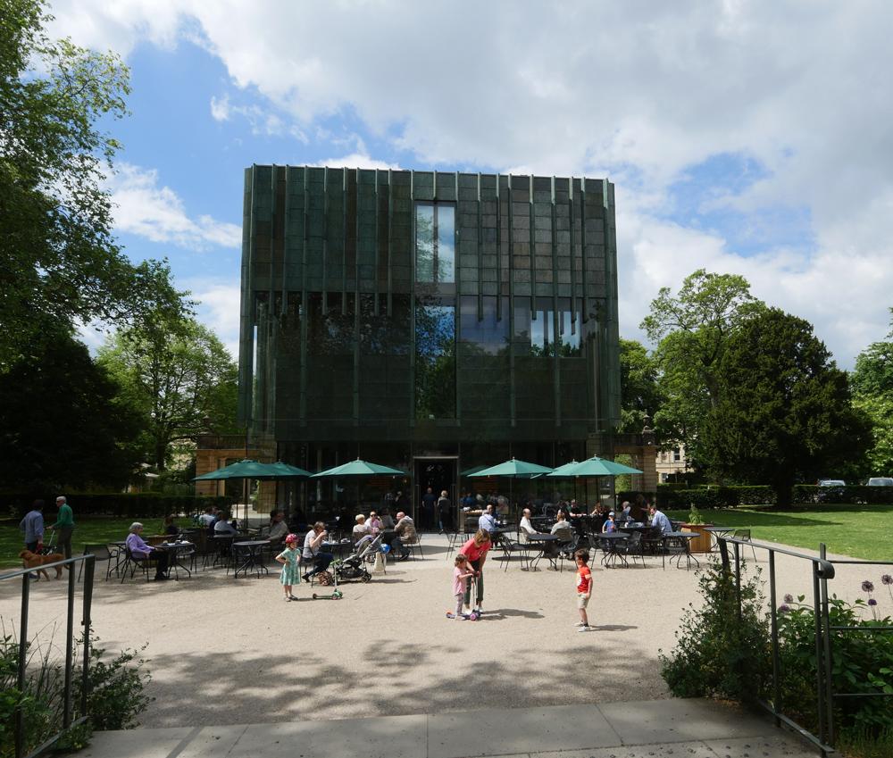 holbourne Museum garden Cafe