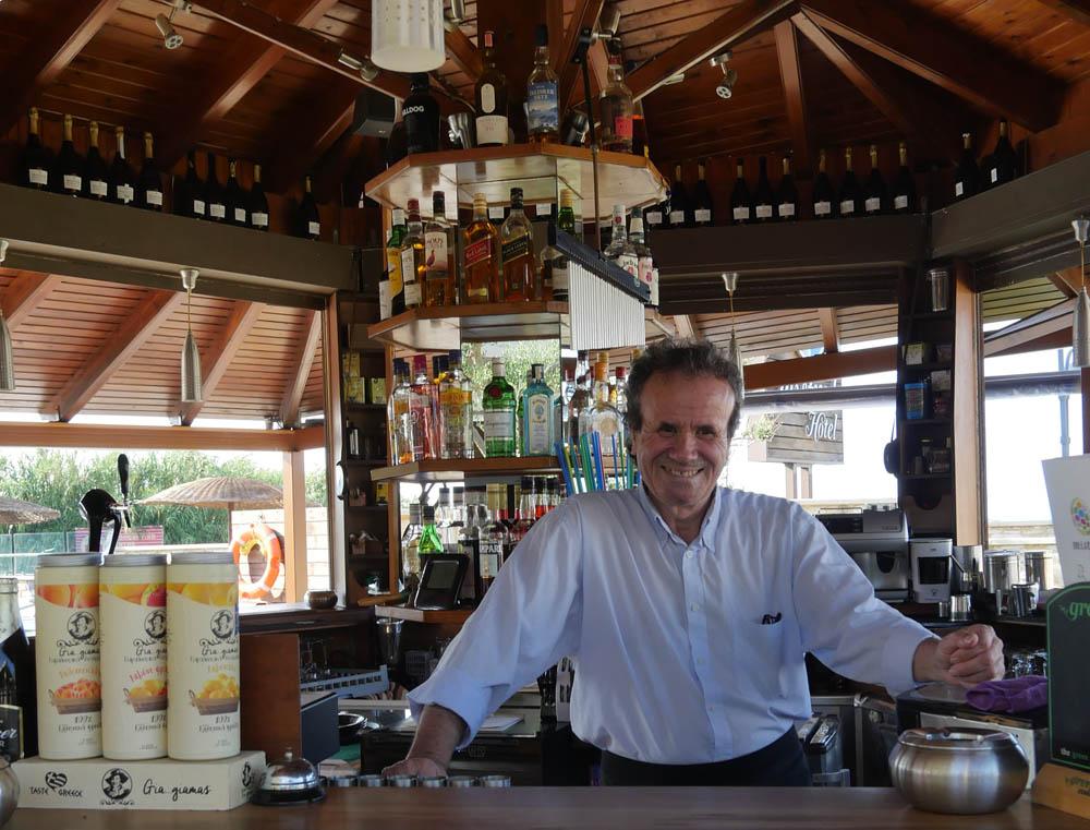 Bar at Mistral Hotel