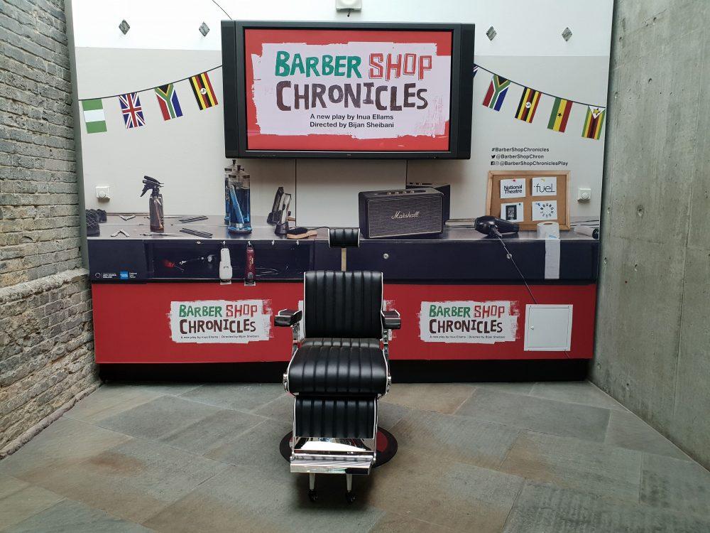 Barber shop pop-up, Roundhouse