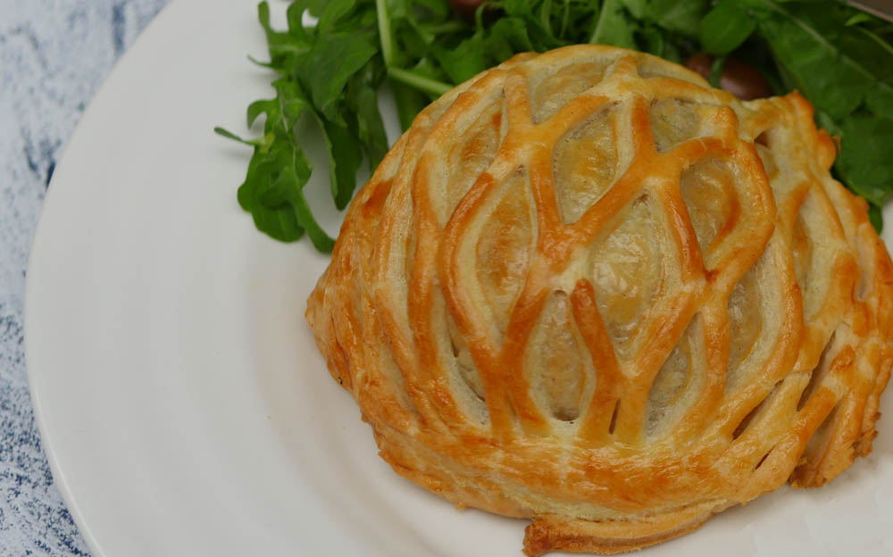 Homemade Beef Wellington with Lattice