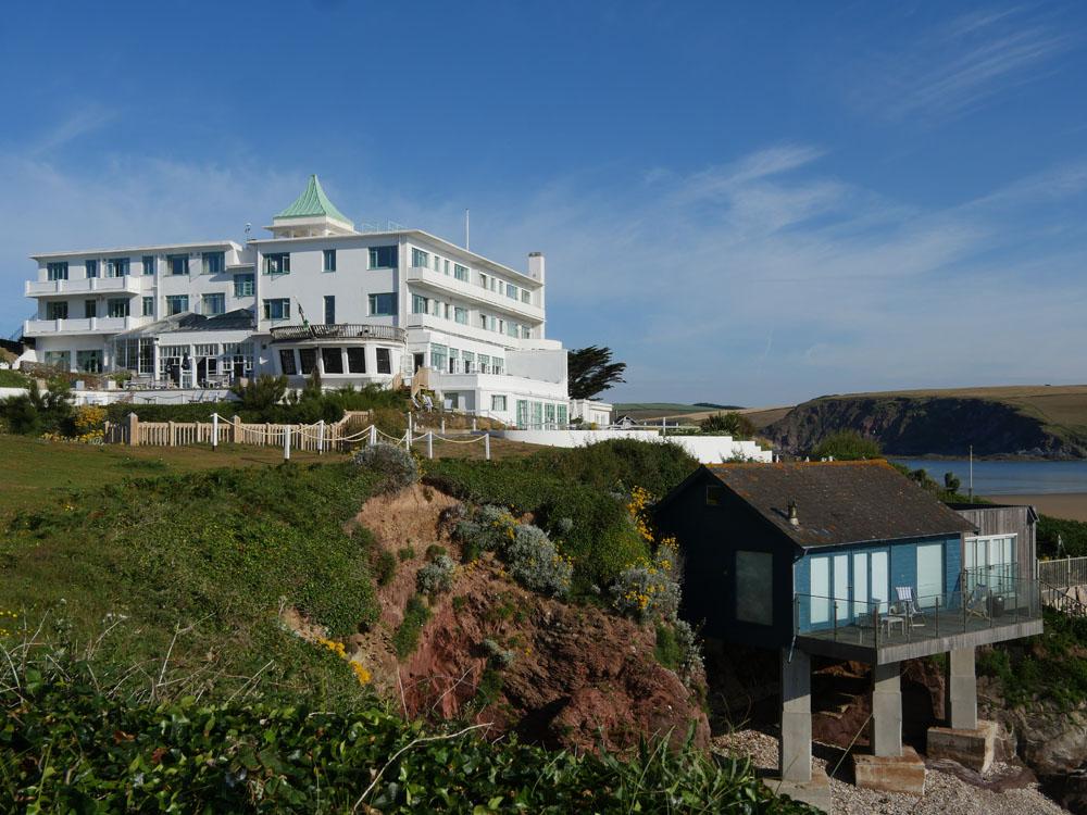 Burgh Island Hotel and Beach House