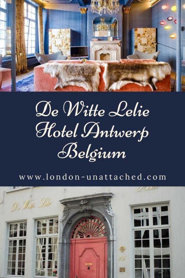 De Witte Lelie Hotel - Antwerp Belgium