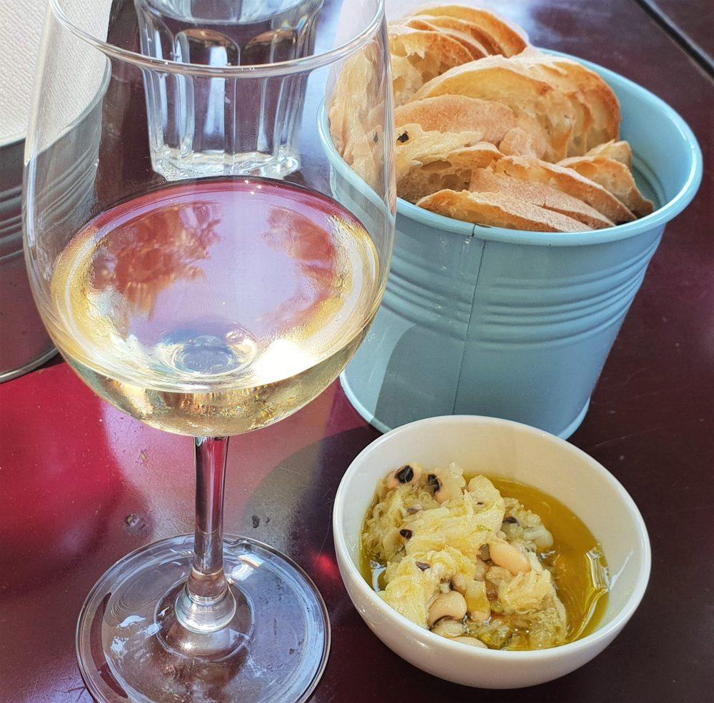 Food Tour Lisbon, Jasmim salade de bacalao