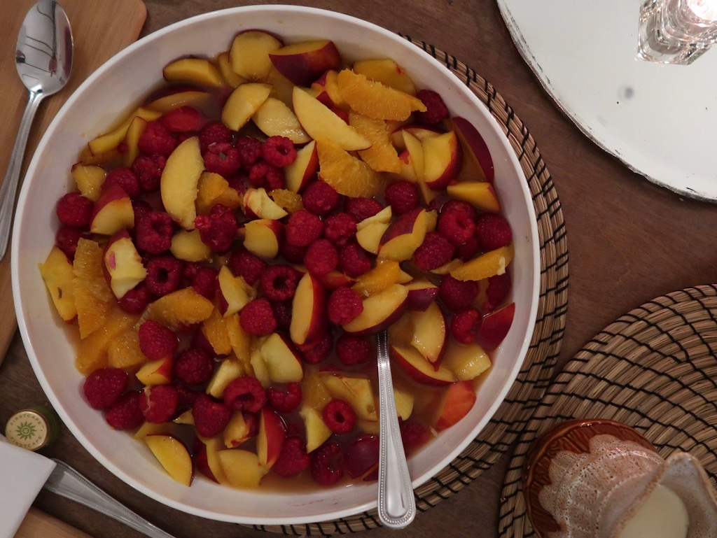 Fruit Salad - Wild Oak Barn