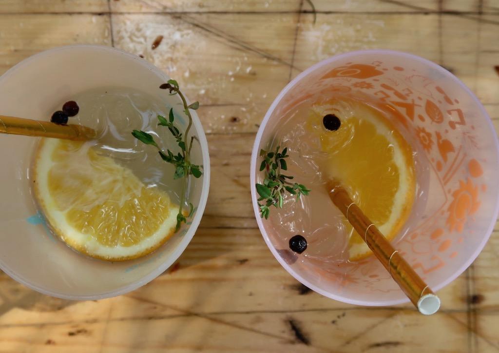 Gin Gin Tin cocktails - Latitude 2019