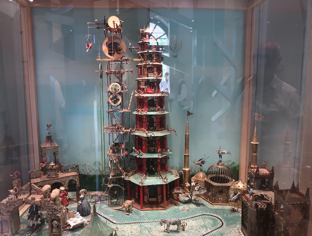 Great Pagoda model