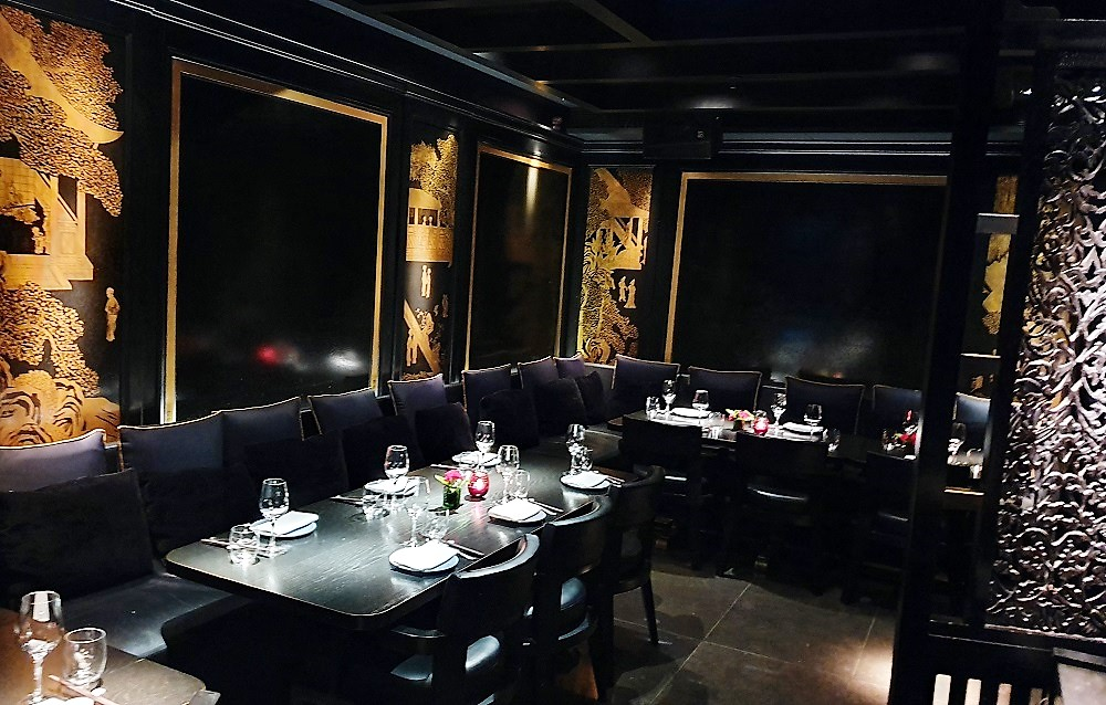 Hakkasan Hanway Place - interior - dining area