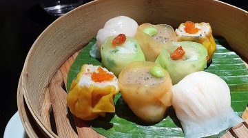 Hakkasan steamed dim sum selection