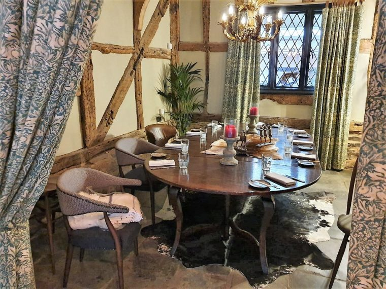 private dining room at hotel indigo stratford