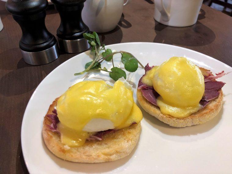 ham and eggs at the hotel indigo stratford upon avon