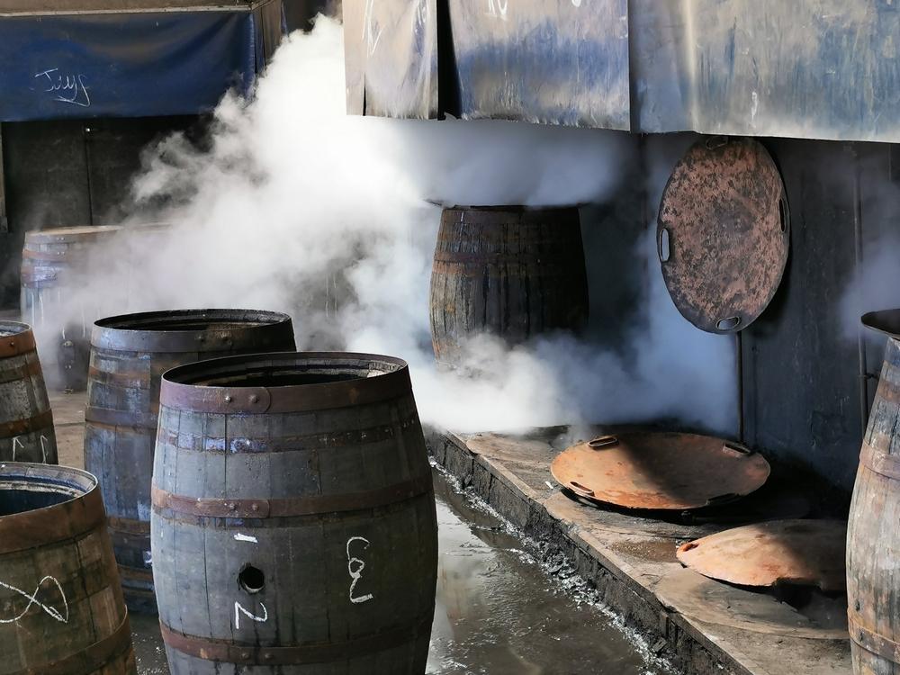 Making barrels at Craigellachie