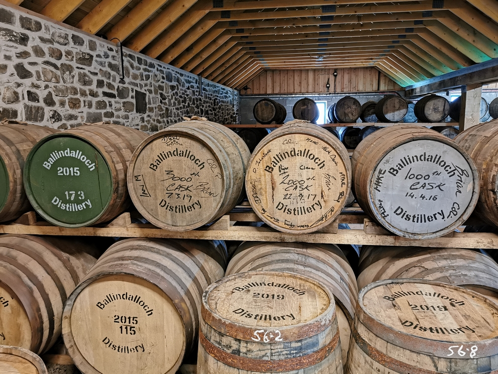 Ballindalloch Whisky Distillery Scotland