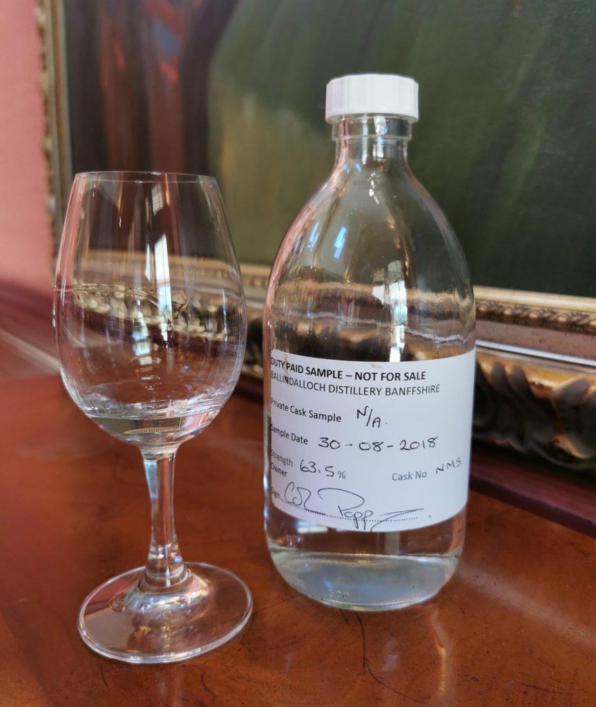 Pre-release Ballindalloch Whisky
