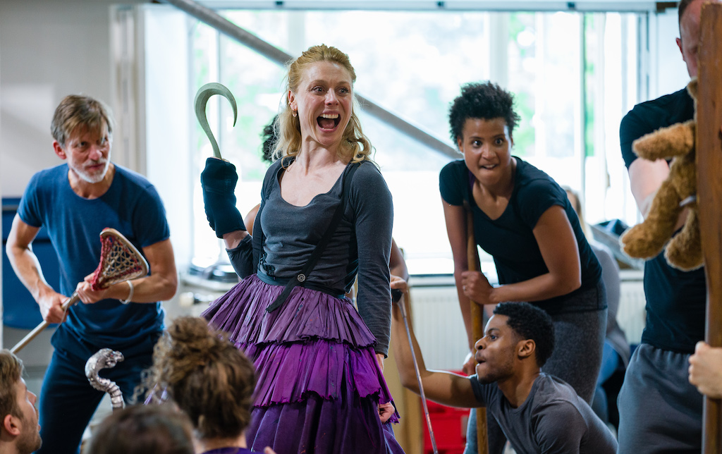 Peter Pan Rehearsals at White City Theatre