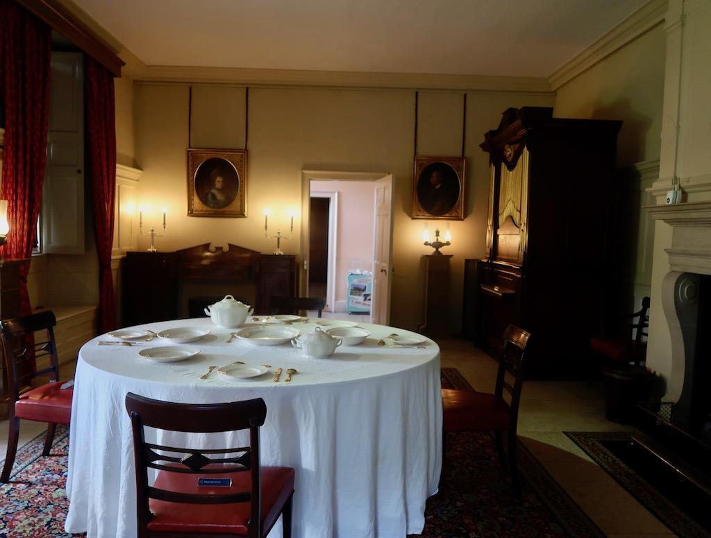 Kew Palace - dining room