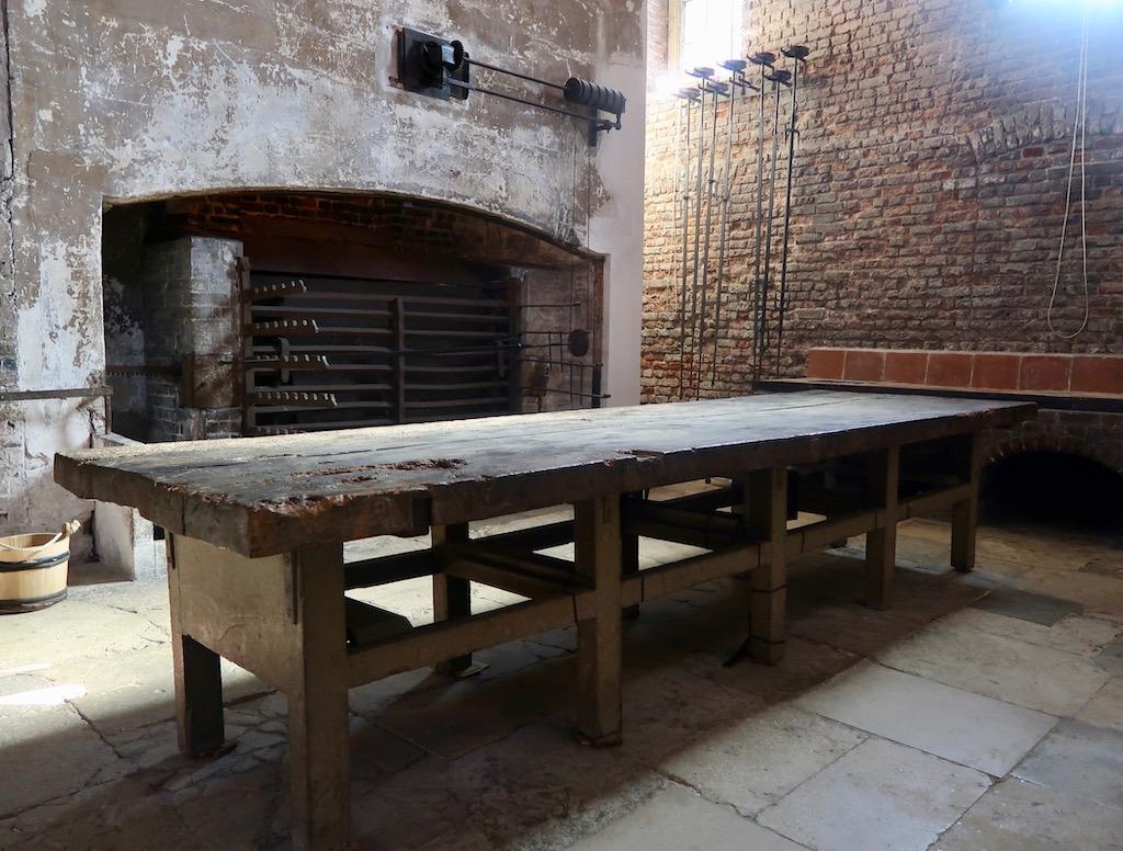 Kew Palace kitchens