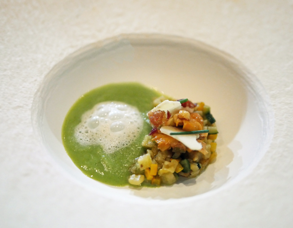 M Young Chef - courgette veloute - Matthew Hurry Laurent