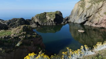 Devon - Mermaid Pool - Burgh Island Hotel
