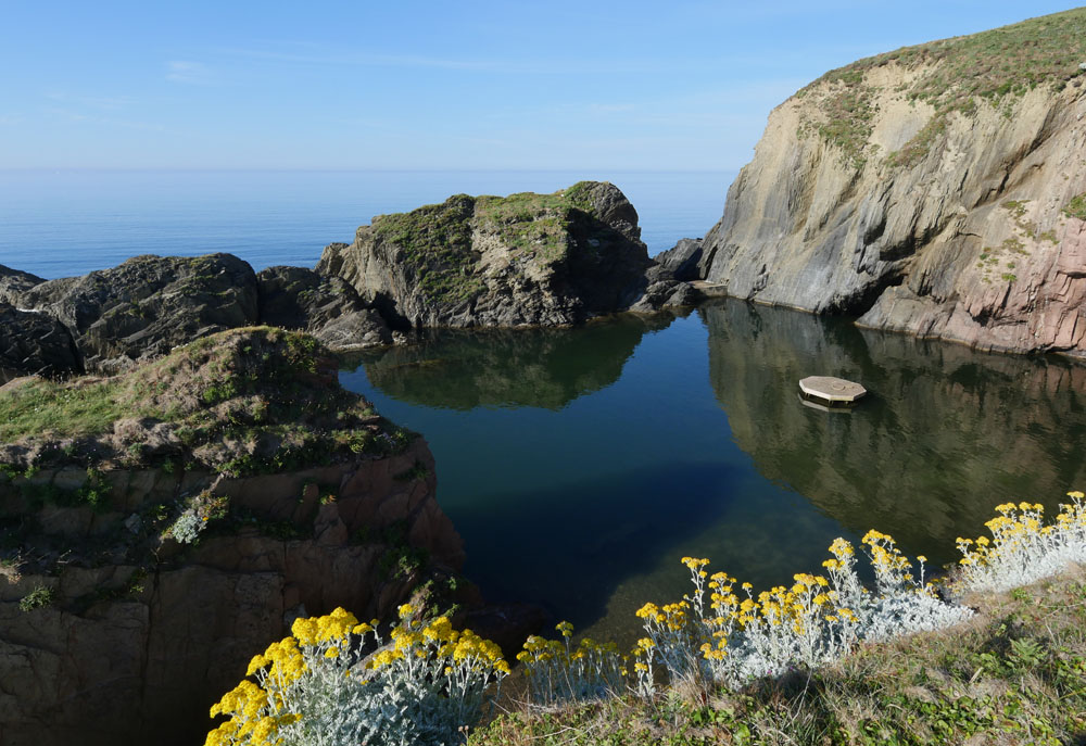 Devon - Mermaid Pool - Burgh Island Hotel