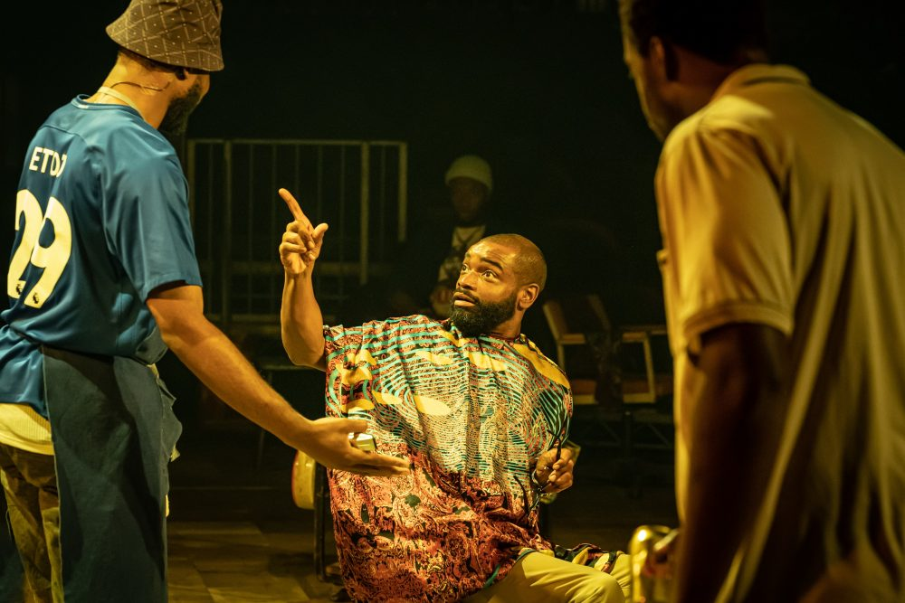 Micah-Balfour-in-Barber-Shop-Chronicles-at-the-Roundhouse-c-Marc-Brenner-2