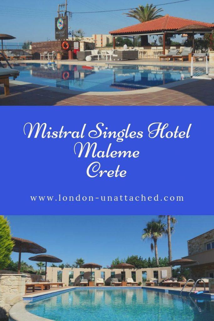 Mistral Singles Hotel - Maleme Crete
