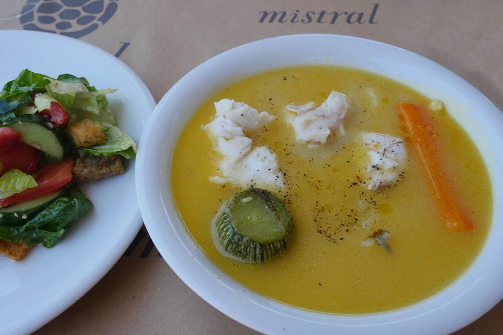 Mistral fish soup