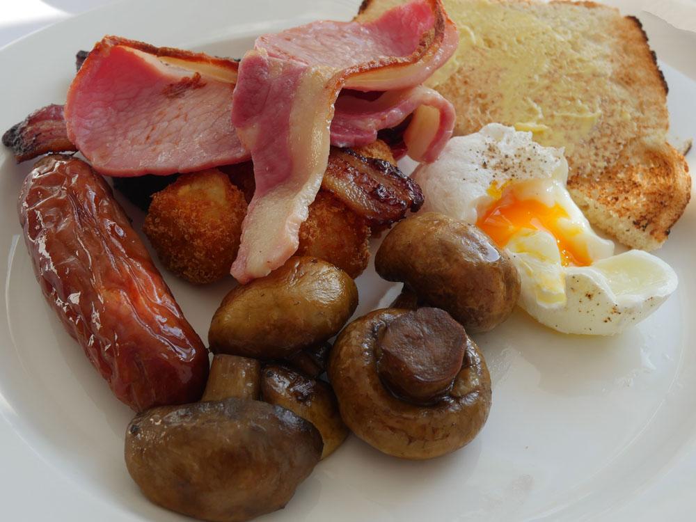 Nettlefold Breakfast at Burgh Island Hotel
