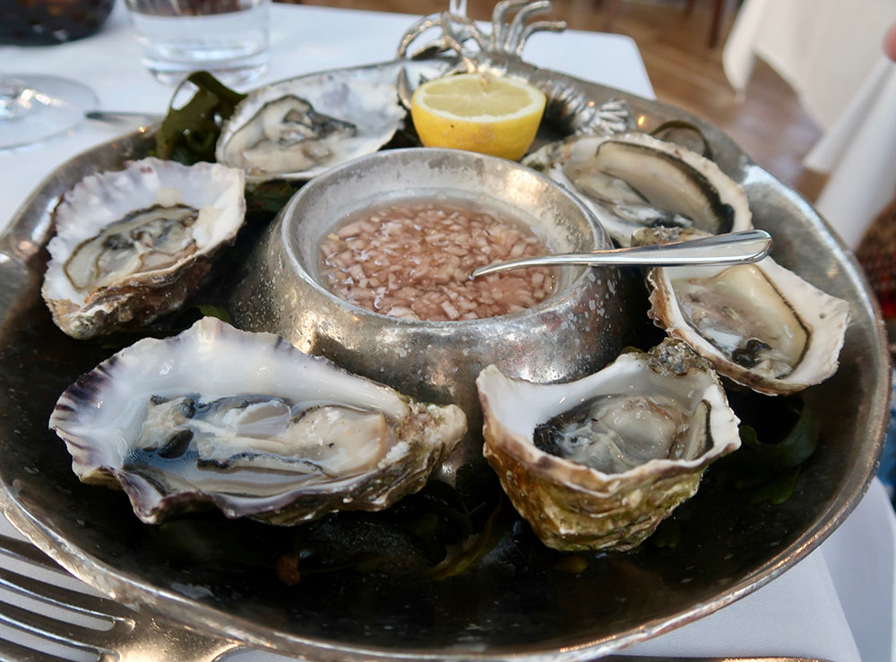 Oysters at Roast Restaurant Borough Market London